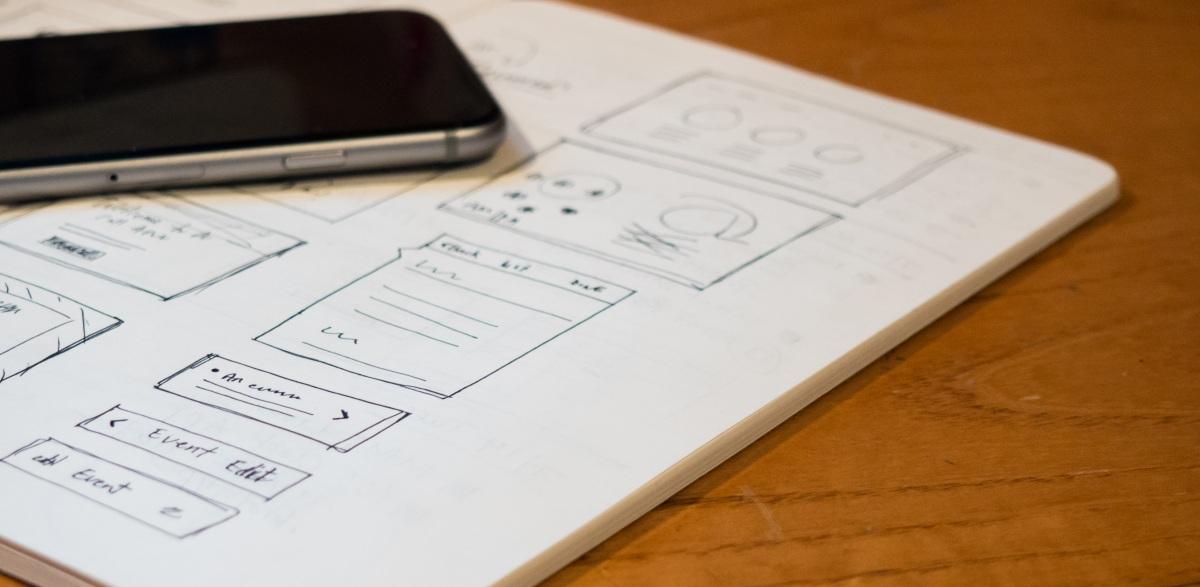 Prise de notes cahier smartphone iPhone